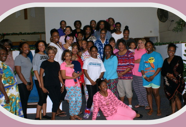 Women's Group,Preaching in PJ's,