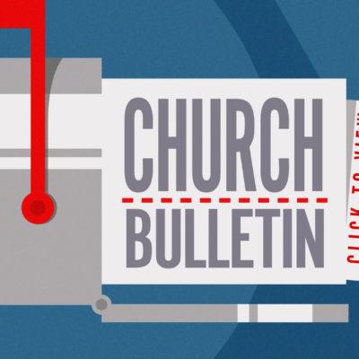 church-bulletin